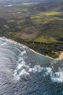 USA, Hawaii, Kauai, Southern Coast, aerial view - HLF01029