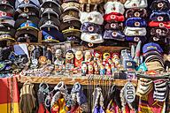 Germany, Berlin, sidewalk sale with souvenirs - WD04167