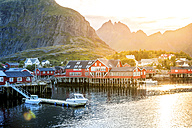 Norway, Lofoten Islands, Moskenesoy, open air museum - PUF00802