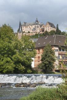Germany, view to Marburg Castle - HWOF00235