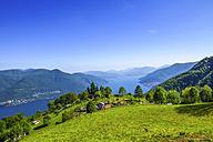 Switzerland, Ticino, Lago Maggiore, Mergugno - PUF00822