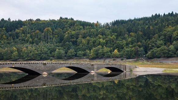 Germany, Hesse, Asel, Edersee, Aseler bridge - SRF00887