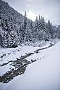 Austria, Salzburg State, Altenmarkt-Zauchensee, snowy landscape - HHF05509