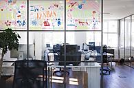 Empty board room in modern office - FKF02659