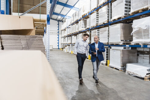 Business people meeting in company storehouse - DIGF02963