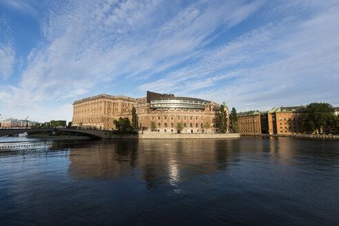 Sweden, Stockholm, Riksdaghuset - SJF00208