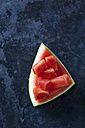Sliced watermelon on dark background - CSF28424