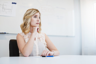Portrait of serious businesswoman in office - DIGF03091