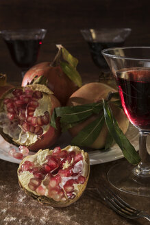 Pomegranate and red wine - CSTF01445