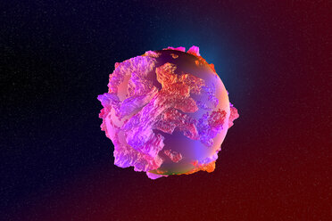 3D Rendered Illustration, cancer cell - SPCF00259