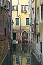 Italy, Venice, houses and canal - RPSF00028