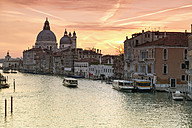 Italy, Venice, cityscape with Grand Canal in twilight - RPSF00034