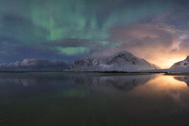 Norway, Lofoten, Vareid, Flakstad, Utakleiv - RPSF00037