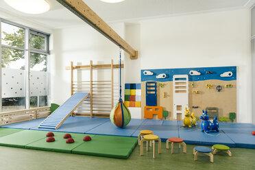 Empty gym room in kindergarten - MFF04047