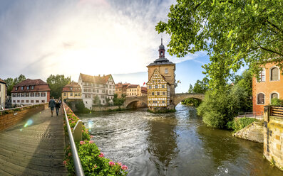 Germany, Bavaria, Bamberg, Old town, old city hall - PUF00876
