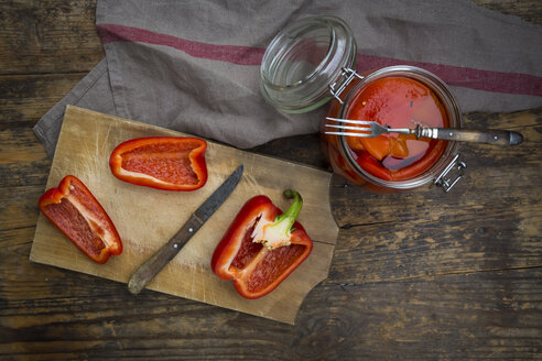 Pickled roasted bell pepper - LVF06399