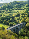 Great Britain, England, Derbyshire, Peak District, eak District National Park, Monsal Head Viaduct - STSF01379