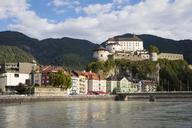 Austria, Tyrol, Kufstein, Old town, Kufstein Fortress, Inn river - WIF03447
