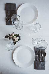 Laid table for two - GIOF03302