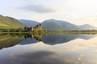 Great Britain, Scotland, Scottish Highlands, Argyll and Bute, Loch Awe, Castle Ruin Kilchurn Castle - FOF09477