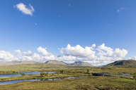 Great Britain, Scotland, Scottish Highlands, Glencoe, Rannoch Moor, Loch Ba - FOF09511