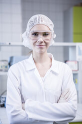 Portrait of confident scientist in lab - WESTF23752