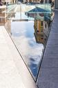 Italy, Lombardy, Brescia, Piazza della Vittoria, modern ground design - CSTF01511