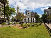 Argentina, Buenos Aires, Plaza de Mayo with Cabildo de Buenos Aires, Museo Nacional del Cabildo y la Revolucinn de Mayo - AMF05519