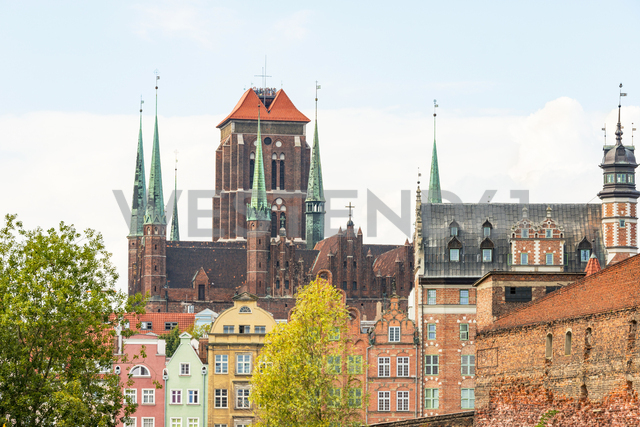 Poland, Pomerania, Gdansk, Old town, St. Mary's Church - CSTF01527