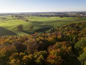 Germany, Bavaria, Upper Bavaria, Landsberied, village in autumn - GNF01418