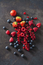 Berries on dark metal - CSF28558
