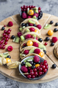 Taco Pancakes with fruits - SARF03432