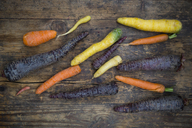 Winter vegetables, carrot, beetroot and parsnip - LVF06473