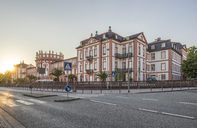 Germany, Hesse, Wiesbaden, Biebrich Palace in the evening - PVCF01208