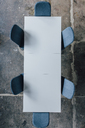 Conference table seen from above - JOSF02078