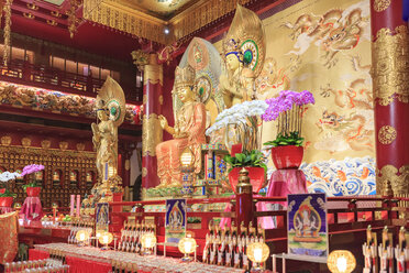 Singapore, Buddha Tooth Relic Temple and Museum - VT00610