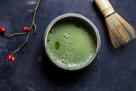 Japanese Matcha in Bowl with Matcha-whisk - SBDF03411