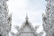 Thailand, Chiang Rai, Wat Rong Khun, buddhist temple - IGGF00246