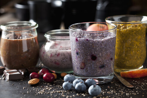 Various desserts of chia seeds - CSF28611