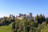 Germany, Bavaria, Swabia, Allgaeu, East Allgaeu, Eisenberg, Hohenfreyberg castle - SIEF07646