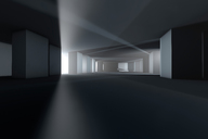 Architecture visualization of an empty building, 3D Rendering - SPCF00263