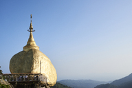 Myanmar, Kyaikto, Kyaiktiyo Pagoda on the Golden Rock - IGGF00252