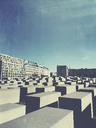 Germany, Berlin, Holocaust monument - GW05354