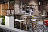Interior of a modern industrial style loft office - WESTF23773