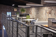 Interior of a modern industrial style loft office - WESTF23782