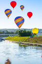 Lithuania, Vilnius, hot air ballooning - CSTF01550