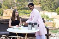 India, Rajasthan, Alwar, Heritage Hotel Ram Bihari Palace - NDF00708