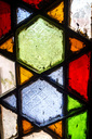Stained-glass window, full frame - NDF00711