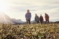 Italy, South Tyrol, Geissler group, family hiking - RBF06234