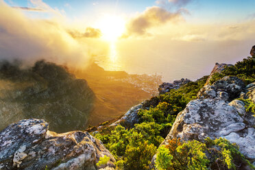 Africa, South Africa, Western Cape, Cape Town, Table Mountain - FPF00139